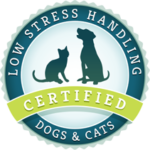 Low Stress Handling Certified for Dogs & Cats